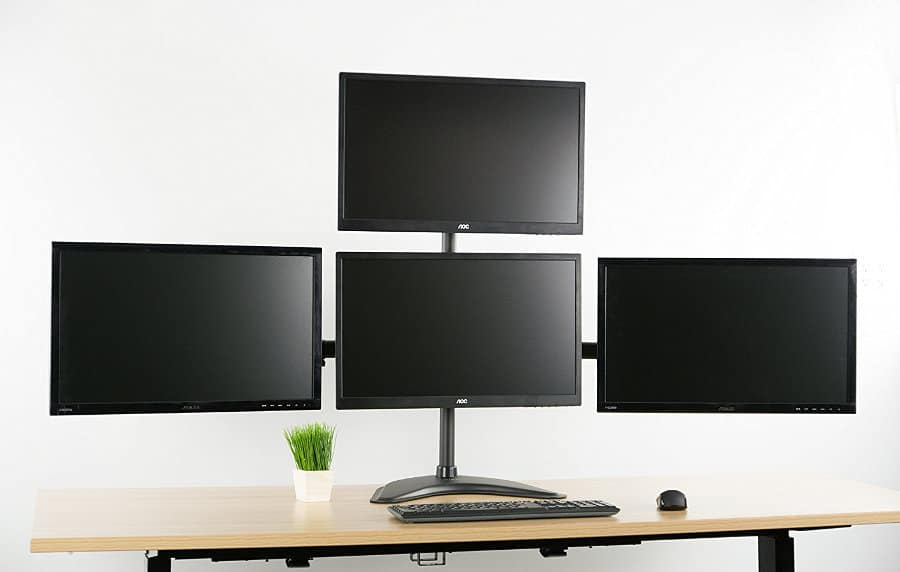 Best Adjustable Monitor Arm Buyer S Guide 2019 Painless