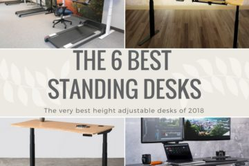Best height adjustable standing desks
