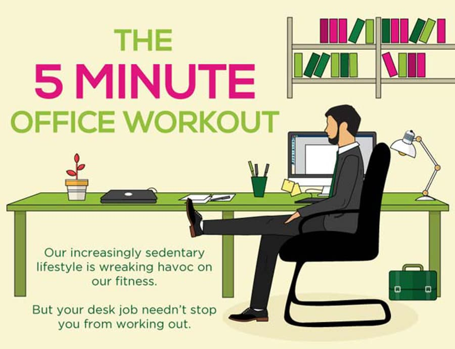 Convenient office workout
