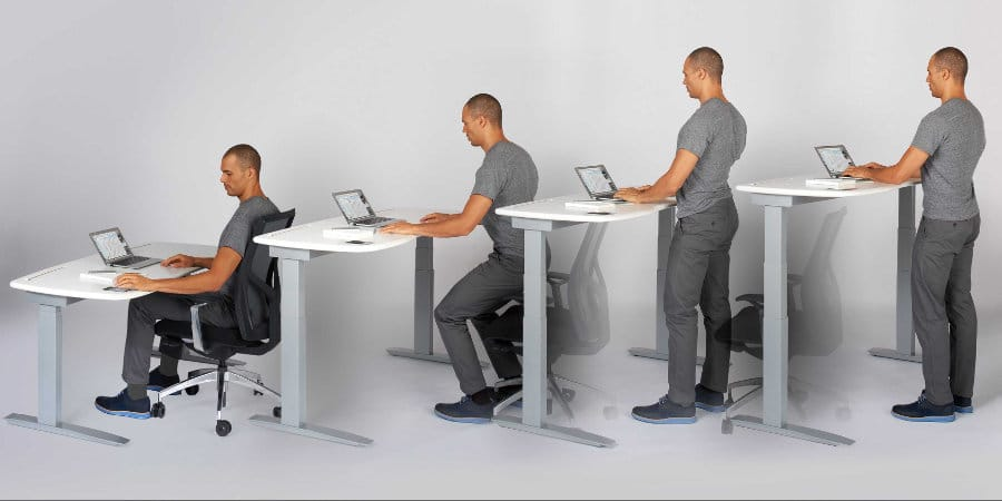ergonomic standing desk guidelines