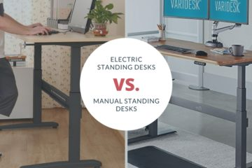 Electric standing desks vs manual standing desks