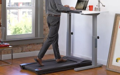 Lifespan treadmill desk base