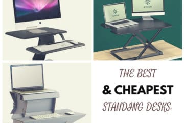 5 Cheapest Standing Desks That Everyone Can Afford Painless Movement