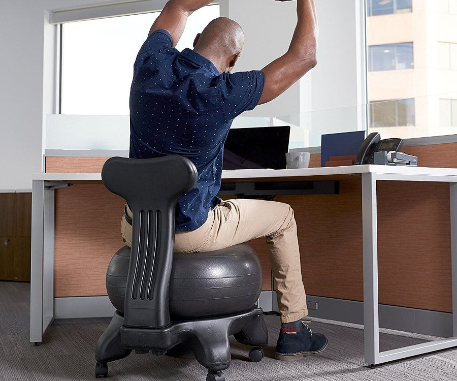 BOSU ball office chair