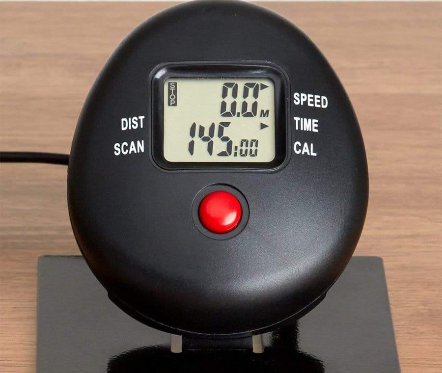 The DeskCycle calorie tracker