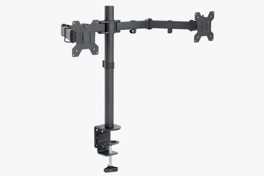 Vivo Dual monitor arm pole mount