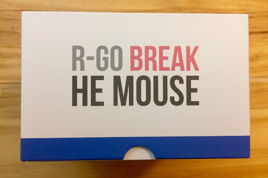 HE Break Mouse packaging