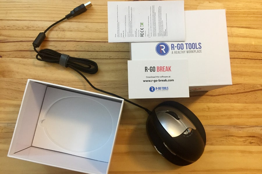 R-Go Tools HE Break Ergonomic Mouse Review | Painless Movement
