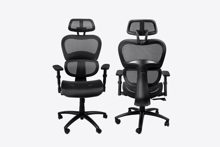 Komene High-back ergonomic office chair