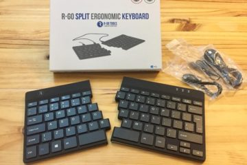 R-Go Tools ergonomic split keyboard